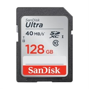 SD Memory Card SDXC 128GB class10 Sandisk Ultra UHS-I (SDSDUN-128G-G46) - фото 7948