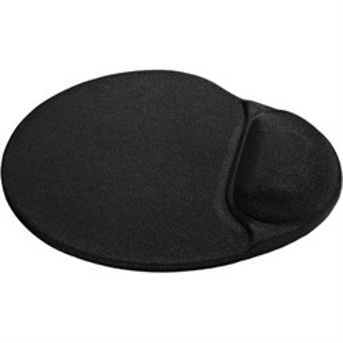 Коврик для мыши с гелевой подушкой Defender Easy Work черный, лайкра, 260х225х5мм (50905) - фото 8057