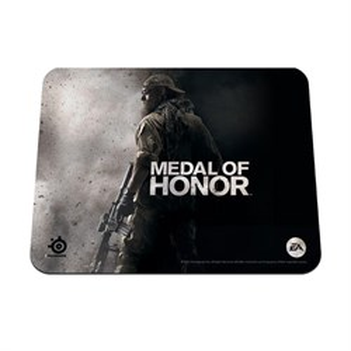 Коврик для мыши Steelseries QcK Medal of Honor тряпичный, черный 250х210мм (63059) - фото 8080