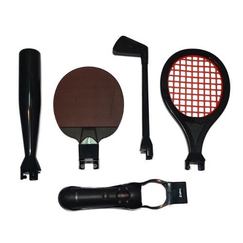 PS3 Move Набор Насадок (Sports Pack) (теннис, бейсбол, гольф), Logic3 (PSM935) - фото 8089