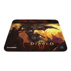 Коврик для мыши Steelseries QcK Diablo III Demon Hunter Edition 320x270мм (67227) - фото 8110