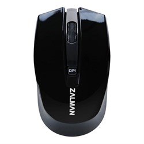 Мышь беспров. Zalman ZM-M520W Black 1600dpi, Avago A3000 sensor - фото 8155