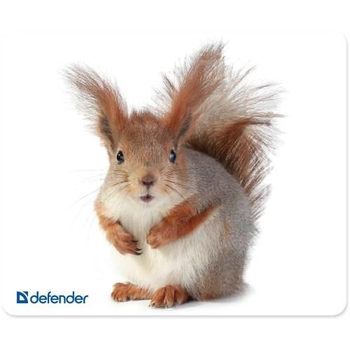 Коврик для мыши Defender Silk, шелк + натуральная резина, 230x190x1.6 мм (50706) - фото 8177