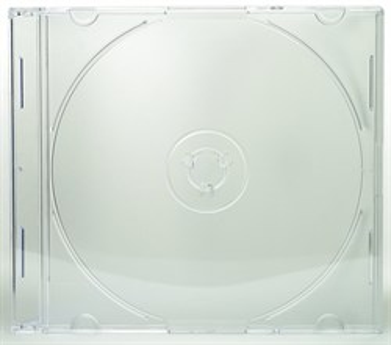 Коробка на 1 CD slim, прозрачная - фото 8201