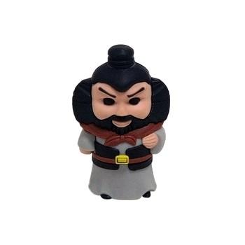 USB 2.0 Flash Drive 4GB Teac RB-ZHANGFEI воин в черной жилетке (силикон) - фото 8270