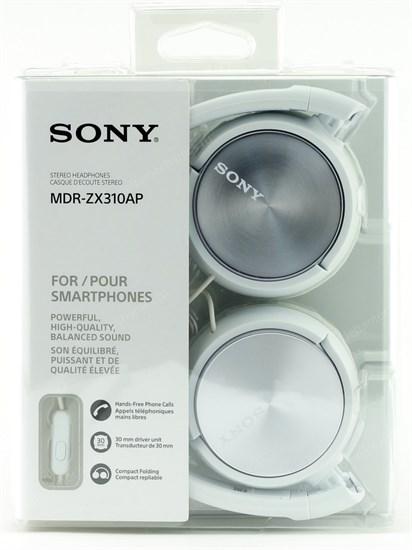 Sony MDR-ZX310APW белая - фото 8420