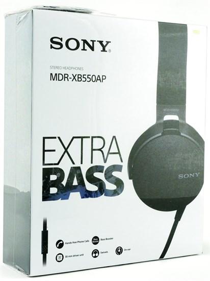 Sony MDR-XB550APB (MDRXB550APB.E) - фото 8451