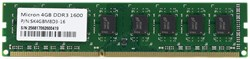 DIMM DDR-3 4GB PC3-12800 DDR3-1600 Micron (SK4GBM8D3-16) 1.5V, CL11 - фото 8491