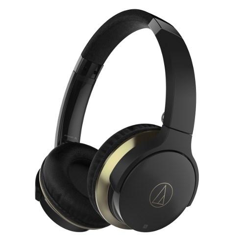 Audio-Technica ATH-AR3BTBK (Bluetooth v4.1, оголовье, складная, черная, до 30ч. работы) - фото 8603