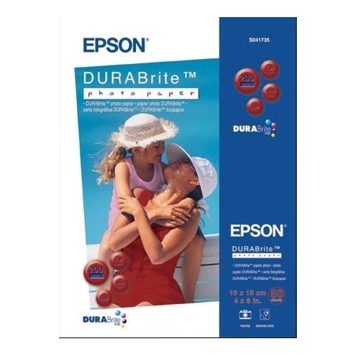 Бумага Epson A6 S041735BH 50л. 200 г/м DURABrite Photo Paper - фото 8619