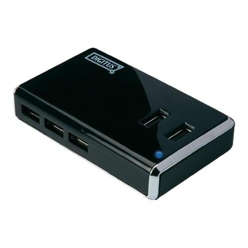 USB 2.0 Hub 10 port (с дополнительным питанием) Digitus DA-70228 - фото 8628