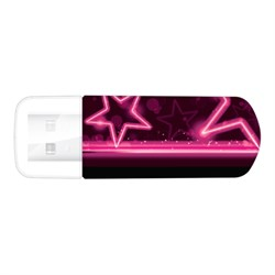 USB 2.0 Flash Drive 16GB Verbatim Mini Neon Edition, розовый (#49396) - фото 8708