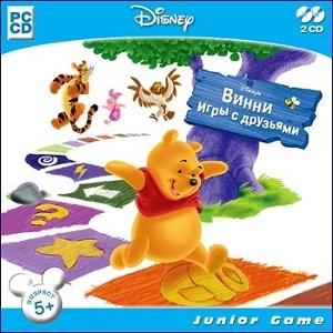 Винни. Игры с друзьями. Disney (Jewel) - фото 9053