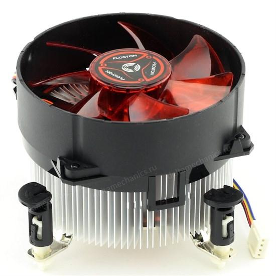 Кулер для S.1156/1155 Floston (FCI1156-4S) Al+Cu, PWM - фото 9463