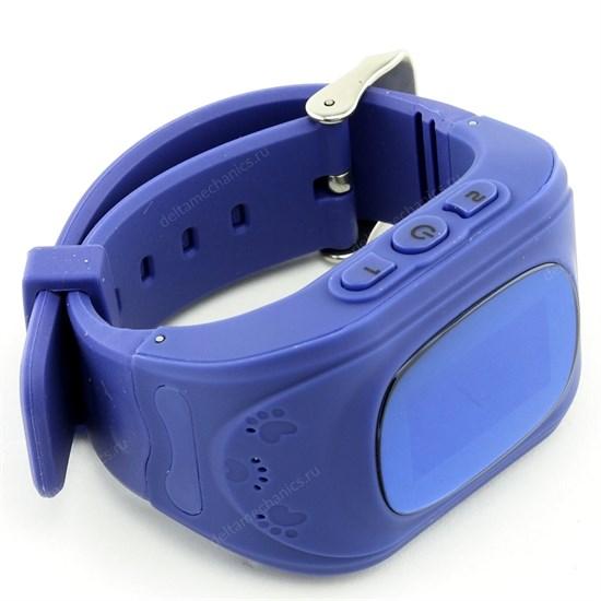 Умные детские часы Smart Baby Watch Q50 с GPS и функцией телефона, темно-синие - фото 9476