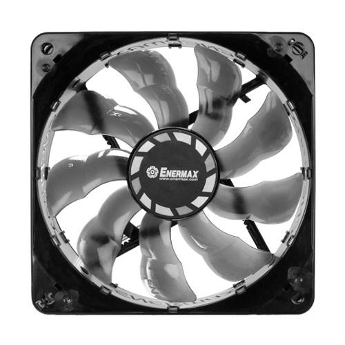 Вентилятор Enermax T.B. Silence PWM 120x120x25мм, Twister Bearing (шарико-магнитный), 8~18dBA (UCTB12P) - фото 9528