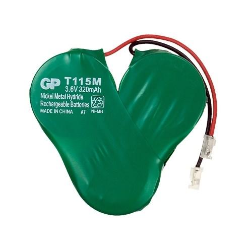 Аккумулятор GP T-115 (к р./тел) 3.6v - фото 9938