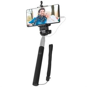 Монопод для селфи энергонезависимый Defender Selfie Master SM-02, 200-980мм, черный (29402)