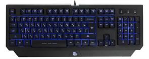 Клавиатура Gembird KB-G300L, 3цв. подсветка, 104кл., USB