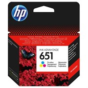 К-ж HP C2P11AE (HP651) Color для Deskjet Ink Advantage 5645, 5575 ориг.