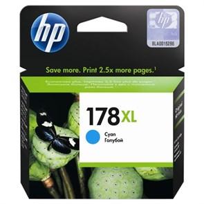 К-ж HP CB323HE (№178XL) Cyan (увеличенной емкости) ориг.