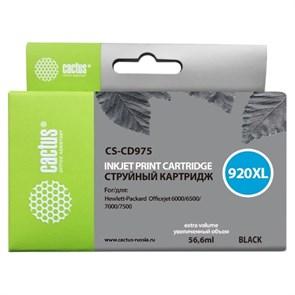 К-ж HP CD975AE 920XL Officejet черный, Cactus