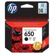 К-ж HP CZ101AE (HP650) Black для Deskjet Ink Advantage 2515 и 2515 e-All-in-One ориг.