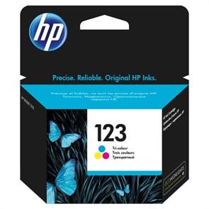 К-ж HP F6V16AE (HP123) Color для DJ 2130 ориг.