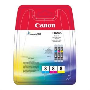К-ж Canon CLI-8C/M/Y (PIXMA MP800/MP500/iP6600D/iP5200/iP5200R/iP4200) 3шт, ориг.