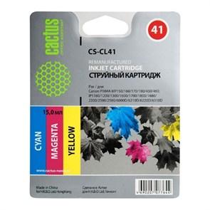 К-ж Canon CL-41 Color (PIXMA MP450/150/170, iP6220D/6210D/2200/1600), 15мл, Cactus
