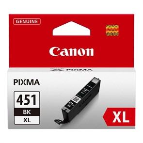 К-ж Canon CLI-451BK XL Black (MG6340, MG5440, IP7240) увеличенной емкости, ориг.