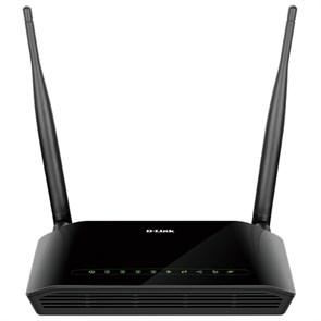Беспроводной роутер D-Link DSL-2750U/RA/U3A ADSL2+, 802.11n,  4xLAN, 1xADSL, USB, спл.