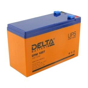 Аккумулятор для ИБП 12V 7.2Ah Delta DTM 1207, AGM, клеммы F2