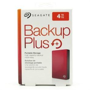 """USB 3.0 HDD 2.5"""" 4 TB Seagate Backup Plus, Red (STDR4000902)"""