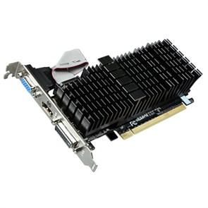 PCI-E x16 GeForce GT 710 Gigabyte GV-N710SL-1GL 1GB DDR3, SILENT (RTL)