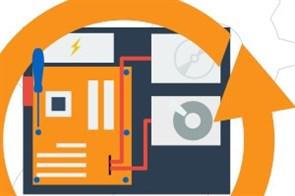 РПК10 Монтаж комплектующего в системный блок (со снятием мат. платы)