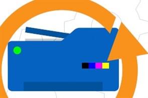 РПР04 Простой ремонт лазерного принтера / МФУ формата A4 (ч/б), 23-30 стр/мин