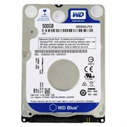 "2.5"" SATA 500 GB WD Blue WD5000LPCX, 5400rpm, 16MB, 7mm"