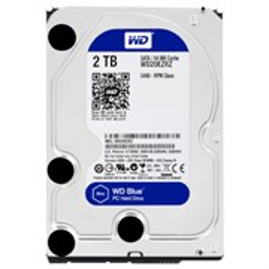"""SATA 2.0 TB WD (WD20EZRZ) """"Blue"""" SATA-3 6Gb/s, 5400rpm, 64MB"""