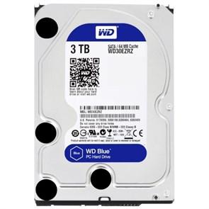 """SATA 3.0 TB WD (WD30EZRZ) """"Blue"""" SATA-3 6Gb/s, 5400rpm, 64MB"""