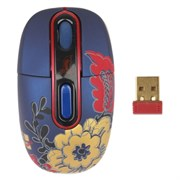 Мышь беспров. A4Tech G-Cube Floral Fantasy - Winter, USB (G7F-10W)