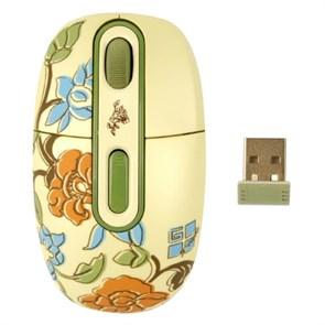 Мышь беспров. A4Tech G-Cube Floral Fantasy - Spring, USB (G7F-10SP)