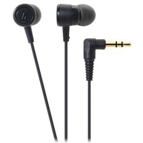 Наушники Audio-Technica ATH-CKL220 BK (внутриканальные, черные, 20Гц-23кГц, 16Ом, 100 дБ/мВт, 3.5мм, кабель 1,2 м)
