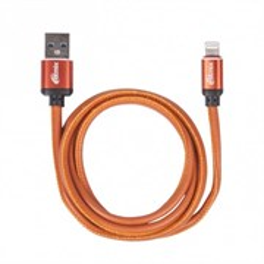 Кабель USB A --> Lightning 8pin (m) 1.0м для Apple, RITMIX RCC-425 Leather
