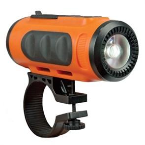 Акустическая система Ritmix SP-520BC orange+black (3Вт, Bluetooth, microSD, FM, AUX, Li-Ion 1000mAч)
