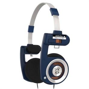 Наушники Koss Porta Pro Casual (оголовье, открытые, синие, 15Гц-25кГц, 60Ом, 101 дБ/мВт, 3.5мм, кабель 1,2 м)