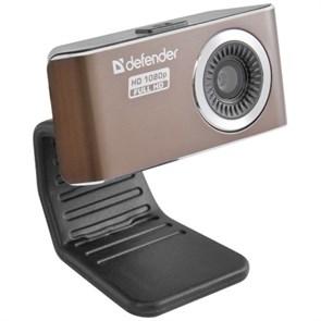 Defender G-lens 2693 FullHD 1080p (CMOS 1/4-2Мп, 5сл. стекл.линза, автофокус, микрофон, кнопка фото), USB