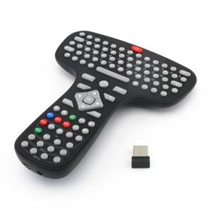Пульт ДУ для ТВ-приставки/телевизора/ПК 3Q Waveme AMK03 (QWERTY-клав., гироскоп, 17 прогр. кн., 2.4G до 10м, 160гр., Li-Ion, USB)