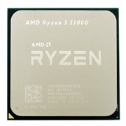 AMD Ryzen™ 3 2200G Socket AM4 (Quad Core, 2+4MB, 3.5/3.7 ГГц, Radeon™ Vega 8 Graphics, 65W), OEM