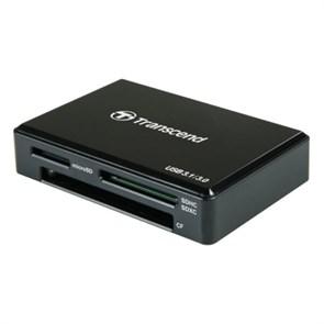 Card Reader USB 3.1 Type-C Transcend <TS-RDC8K> Multi-Card Reader RDC8, черный